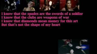 Sugababes-Shape (of my heart) with Lyrics