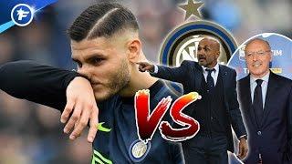 L'Inter Milan part au clash avec Mauro Icardi | Revue de presse