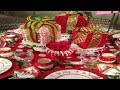 2017 Christmas Table Decorations 2
