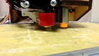 3Dプリンターで直径1mmのノズルを使ってみる