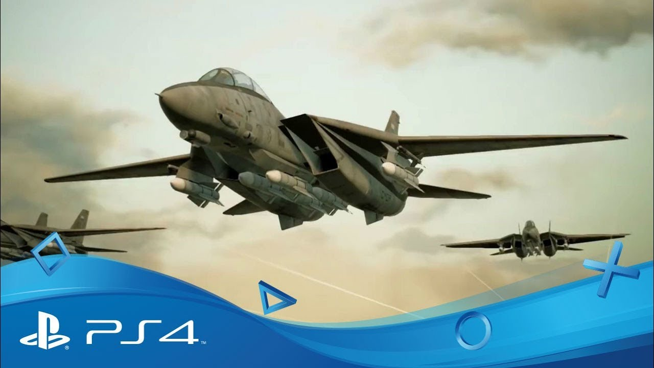 Ace Combat 7 Trailer Gamescom 2018 Disponible Ps4 Playstation Vr Youtube