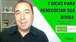 7 Dicas Negociar Dívidas com o Banco| Dívida Zero com Carlos Galvão