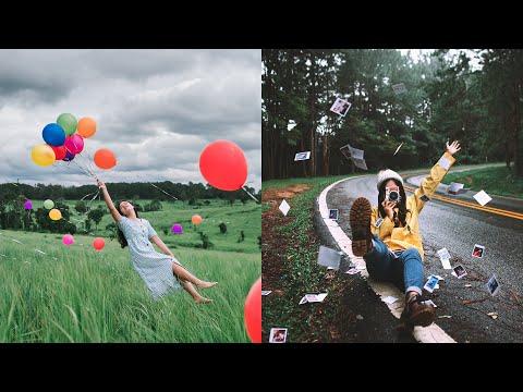 How to Creative shoot Props/Portrait in Rainy season. 📷💦 (Easy Photography Ideas)