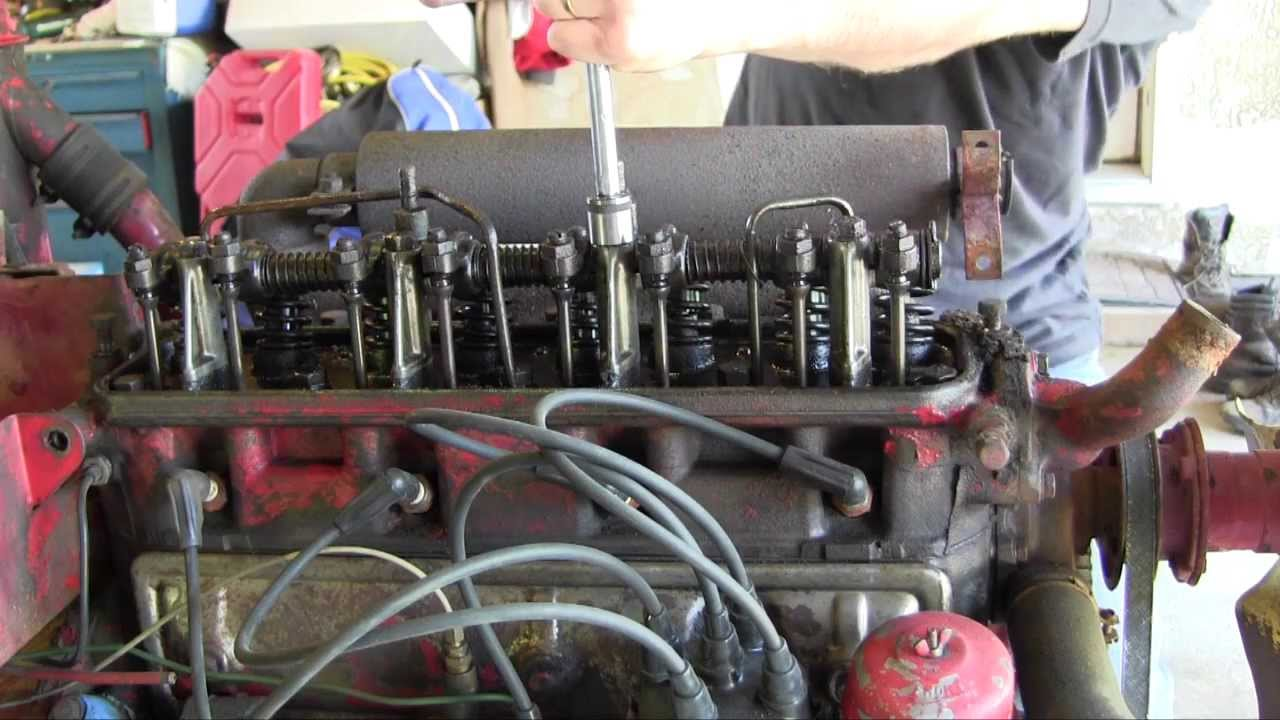 Ford 2000 Tractor Starter Wiring Ford Jubilee Naa Tractor Engine Rebuild Part 2 Valve Cover
