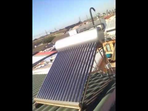 100 litre low pressure geysers installed by Sunpower Solar Water Heating, Cape Town, South Africa