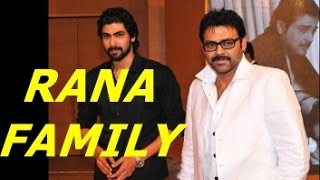 Rana Daggubati Family Childhood Rare And Unseen Pictures