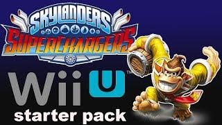 Skylanders Nintendo Wii U Starter Pack Donkey Kong Special Edition
