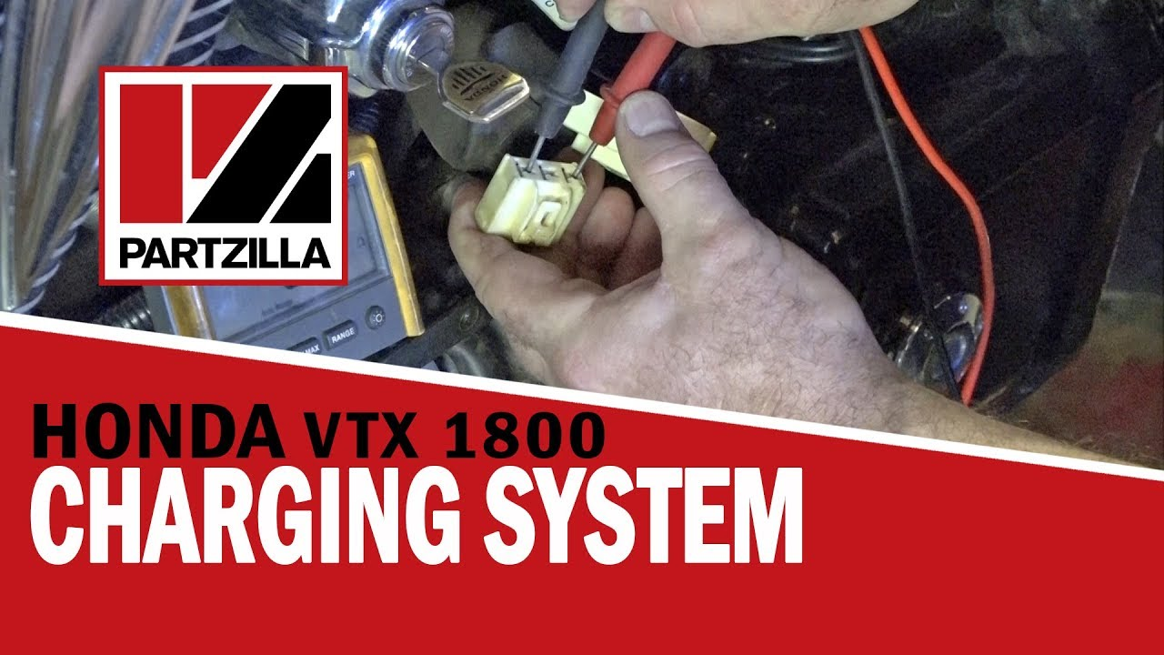 hight resolution of how to test a motorcycle charging system honda vtx 1800 partzilla com