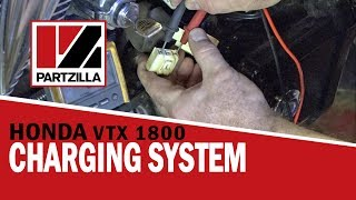 How to Test a Motorcycle Charging System | Honda VTX 1800 | Partzilla.com