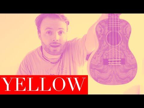 Yellow - Coldplay (EASY UKULELE TUTORIAL)