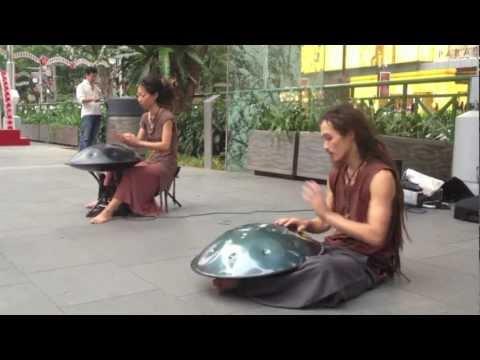 Spacedrum music by Yuki and Taku in Singapore