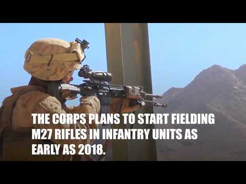 US Marine Corps Systems Command - M27 Infantry Automatic Rifle (IAR) [720p]