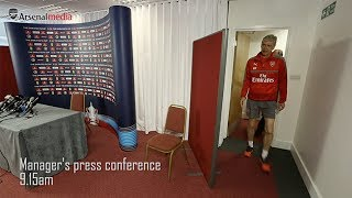 Behind the scenes at FA Cup final media day