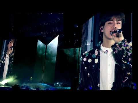 091018 Jin solo (Epiphany) : BTS 방탄소년단 Love Yourself Tour in London Fancam 직캠