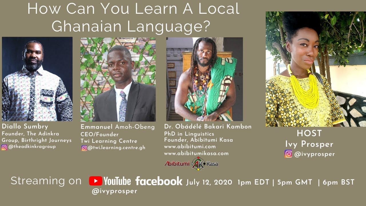 How Can You Learn A Ghanaian Language?
