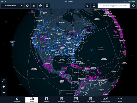 ForeFlight Global Aeronautical Maps