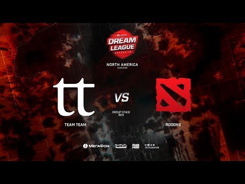 Team Team vs ROOONS - DreamLeague S10 - Game 2