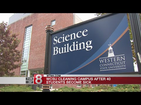 WCSU cleaning campus after 40 students become sick