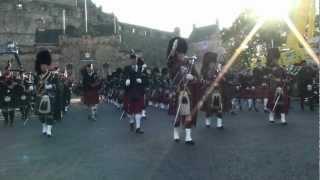 Lockerbie Pipe Band in Edinburgh 1
