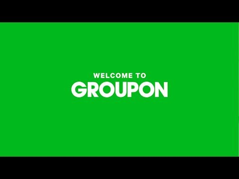 Welcome to Groupon!