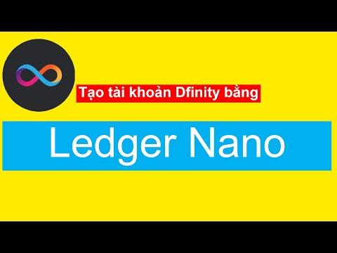 [Internet Identity] Hướng dẫn tạo tài khoản Dfinity (ICP) trên máy tính bằng ví lạnh Ledger Nano X