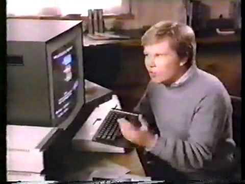 80's Atari 800XL Commercial spot