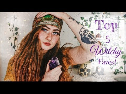 Top 5 Witchy Faves || Collaboration with Anais Alexandre