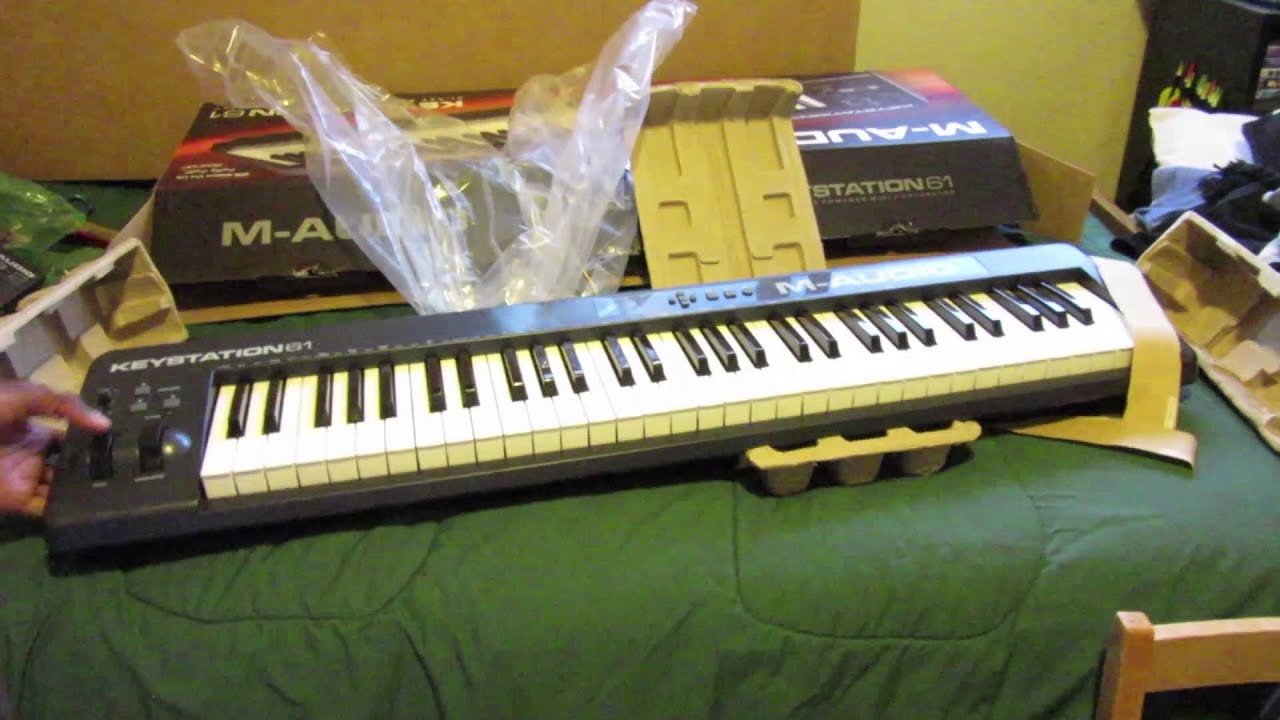 m audio keystation 61 unboxing 2015 youtube. Black Bedroom Furniture Sets. Home Design Ideas