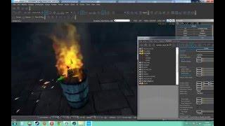 Cryengine #16 Создание огня, спецэффектов  уроки
