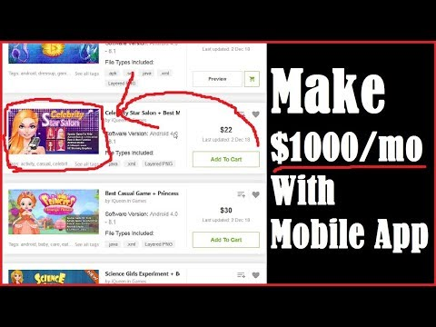 Make Money With Android Apps Reskin From CodeCanyon App Templates