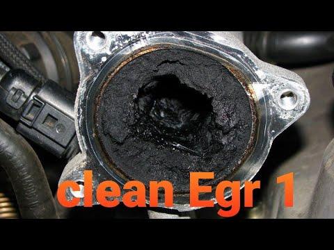 EGR Clean Audi A 4 1.9 TDI AWX/ Limpiar Válvula AGR Part 1