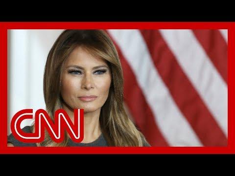 Melania Trump silent