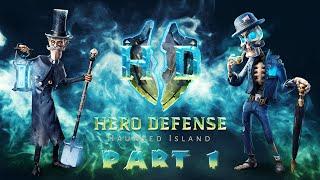 Hero Defense - Haunted Island - Part 1
