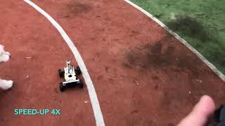 Gambar cover DonkeyCar test running on athletics track