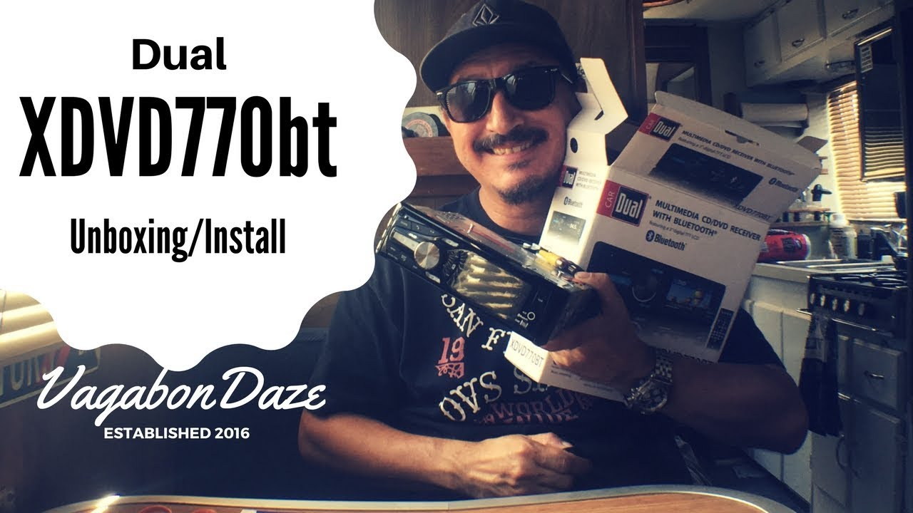 Dual XDVD770bt Stereo Unboxing on