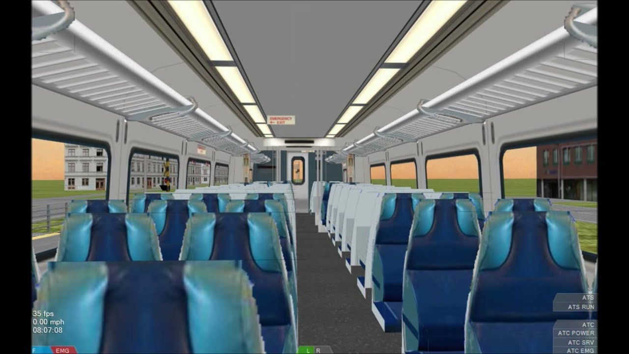 openbve hd exclusive metro north railroad bombardier m7 emu interior update ride along 12 15. Black Bedroom Furniture Sets. Home Design Ideas