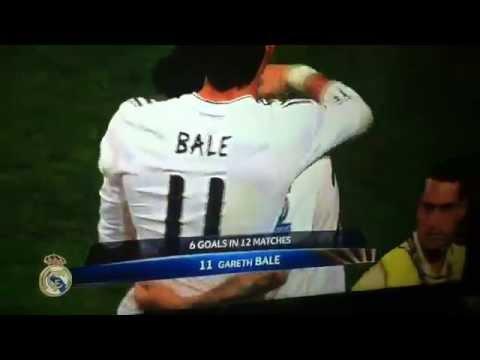 Gareth Bale goal vs Atletico Madrid 4-1 2014 Final Champions League 2014