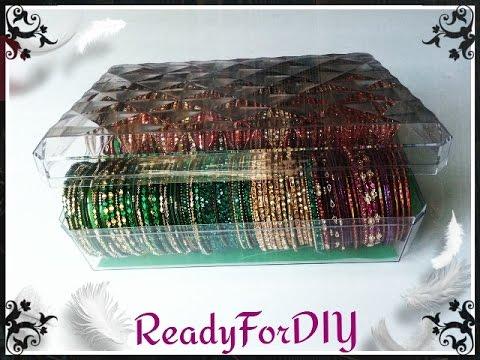 DIY Bangles | Bracelets Storage Box From Chocolate Box - Ferrero Rocher & DIY Bangles | Bracelets Storage Box From Chocolate Box - Ferrero ...