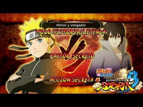 Naruto Shippuden: Ultimate Ninja Storm 3 Walkthrough + Full Burst - Parte 11 |Capitulo 2 Naruto Vs Sasuke Boss Jefe Gameplay Español/Japanese 1080p Xbox360/PS3