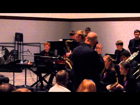 """Nutville"" - Arlington High School Jazz Machine at 2013 Berklee Jazz Fest"