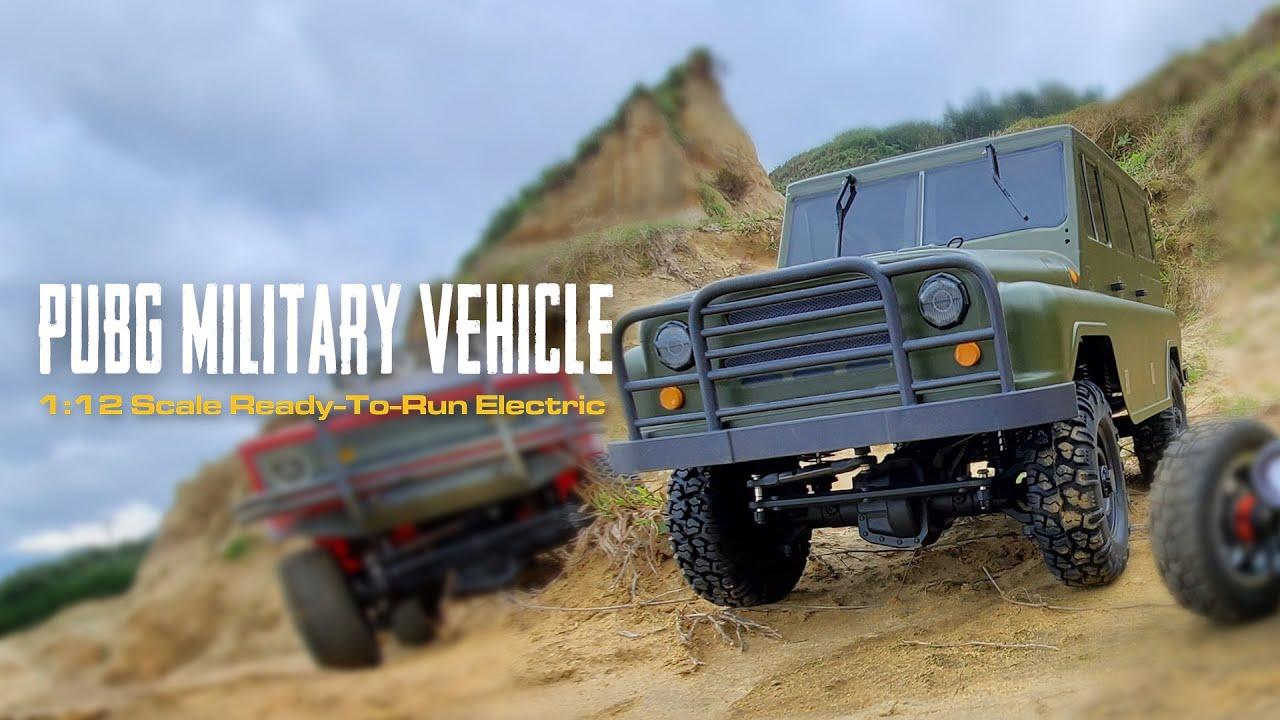 Download 【PUBG+TTRCSport】 PUBG 1/12 Military Vehicle