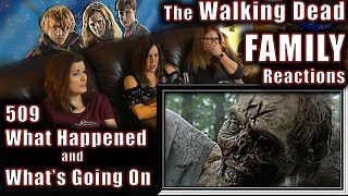 The Walking Dead | 509 | What Happened and Whats Going On | FAMILY Reactions | Fair Use