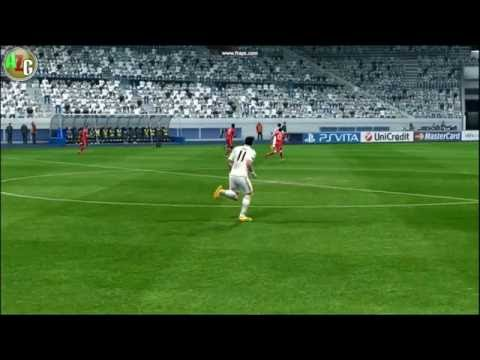 match SUPER CUP - real madrid vs olympique lyon in pes 13