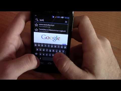 Alcatel OT 997D Ultra con Android 4.1.1 Jelly Bean da TechZilla.it