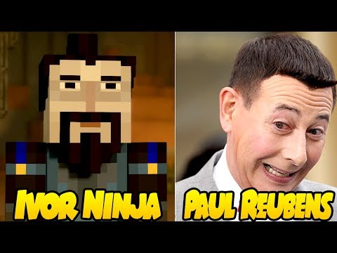 Characters and Voice Actors  Minecraft: Story Mode Season 2 Episode 4  Below The Bedrock