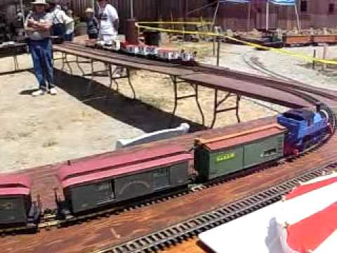 Model trains at Pacific Coast RR