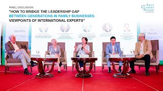 Asian Leaders' Pitstop #02 | Bridge the Leadership gap in Family Businesses | Discussion 1