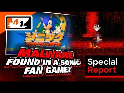 Sonic Gather Battle (Fan Game): Is it Malware? – Tails' Channel News