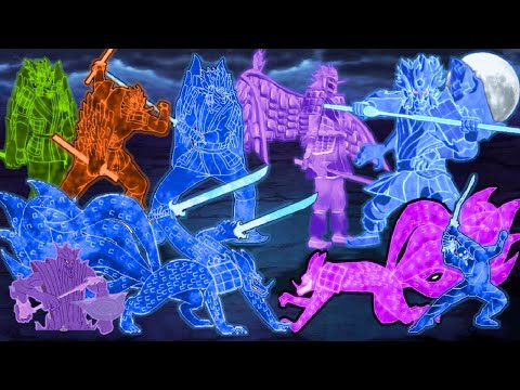 All Susanoo Transformations - Naruto Mugen 2020