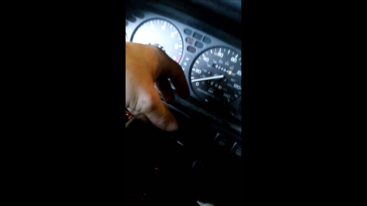 integra 90-93 aftermarket steering wheel with horn